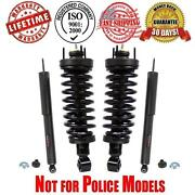 Front Complete Struts Assembly + Shocks Crown Victoria Town Car Grand Marquis