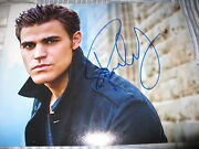 Paul Wesley Signed Autograph 8x10 Photo Vampire Diaries In Person Coa Auto I