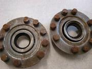1929 Chevrolet Car Rear Axle Retainers And Bolts For Restore