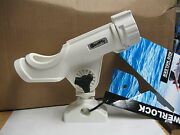 Scotty Power Lock The Ultimate All Purpose Rod Holder White 736-230wh