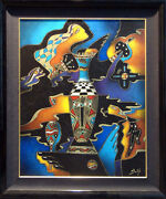 Neal Doty Big Cohpona Mixed Media Original Hand Signed Art Submit Best Offer