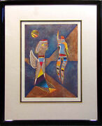 Neal Doty Earth Angel Original Etching Hand Signed Artwork Make An Offer