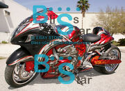 Injection Fairing W6 With Tank Seat Cowl Kit Fit Gsxr1300 Hayabusa 2008-2019 42