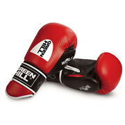 Greenhill Wolf14oz Leather Boxing Gloves Fightpunch Bag Mma Muay Thai Grappling