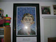 Mad Magazine 400 Art Lithograph Rare - Limited Edition Artist Signed 139 / 250