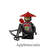 New Lego 70505 Ninjago Temple Of Light Scout Minifigure Figure With Crossbow