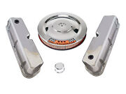 Ford Mustang 260 289 302 Chrome Valve Cover And Air Cleaner Kit 64 65 66 1965 1966