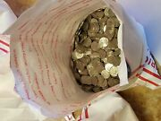 1 Bag 100 Face Val Circulated Jefferson Nickels. Real Us Coins Copper/nickel