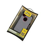 New Otterbox Defender Case For Iphone 4/4s Peony Pink And Gunmetal Gray