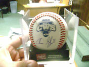 Aaron Slegers Indiana Hoosier Signed Official 2013 College World Series Baseball