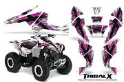Can-am Renegade Graphics Kit By Creatorx Decals Stickers Tribalx Pink-white
