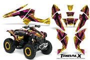Can-am Renegade Graphics Kit By Creatorx Decals Stickers Tribalx Py