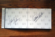 The Saleen Book/registry 1984-2003 Hand Signed By Carroll Shelby And Steve Saleen