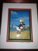 Donald Duck Mr Duck Steps Out- Signed By Frank Thomas Ollie Johnson And Marc Davis