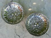 S. Kirk And Son's Sterling Silver Floral Repousse Basket Dish C.1903, Candy Dish