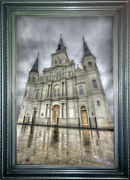 New Orleans Art St Louis Cathedral Numbered Giclandegravee