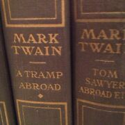 Very Rare Uniform Edition Of Mark Twainand039s Books Authorand039s National Edition