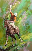 Mark King Polo Horse Hand Signed Serigraph Le Art Submit Your Offer