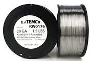 Temco Kanthal A1 Wire 29 Gauge 1.5 Lb 4840 Ft Resistance Awg A-1 Ga
