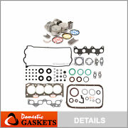 92-95 Toyota Paseo 1.5l Dohc Full Gasket Pistons Bearings And Rings Set 5efe