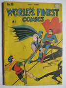 Vintage Old Collectible Dc Comic Worls Finest 19 -vf