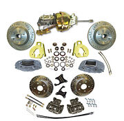 1963-70 Chevy Truck Complete Front And Rear Brake Kit