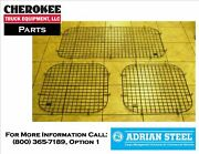 Adrian Steel 60-pm-mlxw, Side And Rear Doors Security Screen Kit, Gray,