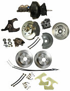 1973-87 Chevy Truck Complete Front And Rear Disc Brake Kit 12 Rotors