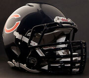 Chicago Bears Nfl Riddell Speed Football Helmet With Big Grill S2bdc-ht-lw