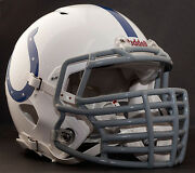 Indianapolis Colts Nfl Riddell Speed Football Helmet With Big Grill S2bdc-ht-lw