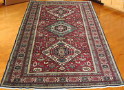 4and0396x6and03911genuine Persian Tribal Ardebil Hand Knotted Area Rug