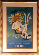 French Antique Poster French Poster 1950 L@@k Submit Best Offer