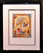 Roy Tonkin Les Amauts Ii Hand Signed Etching W/custom Frame Make An Offer
