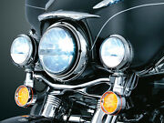 Truck Lite 7 Round Led Phase 7 Motorcycle Headlight And Dual Passing Lamp Kit