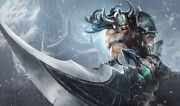 League Of Legends Tryndamere Cosplay Sword