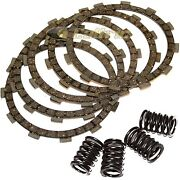 Clutch Friction Plates And Springs For Kawasaki Klf300 Bayou 300 1986-1996