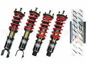 Skunk2 Pro-st 12 Ways Adjustable Coilovers For 89-91 Honda Civic And Crx Ef