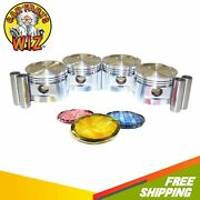 Pistons And Rings Fits 84-87 Honda Prelude Accord 1.8l Sohc 12v Et2 A18a1 Es2