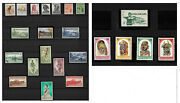 Papua New Guinea Pictorials 1958/64 - Yvert 18/40 - Price Mnh Andeuro 200