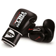 Greenhill Leather Boxing Gloves Arsenal Training Sparring Muay Thai Ufc Mma Figh