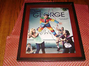 George Lopez Actor Comedian Signed 11x14 Framed Photo Saint George Tv Show