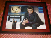 George Lopez Actor Comedian Signed 11x14 Framed Photo Lopez Tonight Tv Show