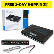 New Clarion Eq Eqs755 Car Audio 7-band Graphic Equalizer With 3.5mm Rca Aux-in