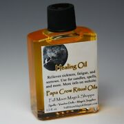 Healing Oil Anoint Candles Use Spells Wicca Voodoo Full Moon Healing Magick