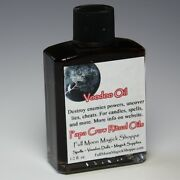 Voodoo Oil Anoint Candles Use Spells Wicca Voodoo Full Moon Success Magic