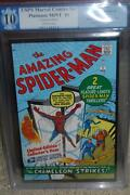 Spider-man 1 Pgx 10.0 Marvel 2007 Reprint Usps Like Cgc Not 9.8 Or 9.9 512 Cm