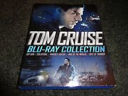 Tom Cruise Blu-ray Collection-5 Movies-top Gun, Collateral, Minority Report,more