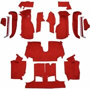 Carpet For 92-93 Chevy Corvette Convertible Complete Kit With 1 Latch Cutout