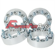 4pc 2 8x6.5 Wheel Spacers Adapters 9/16 Studs For Dodge Ram 2500 3500 Dually