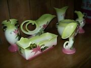 Hull Pottery Collection 7 Pieces - Woodland